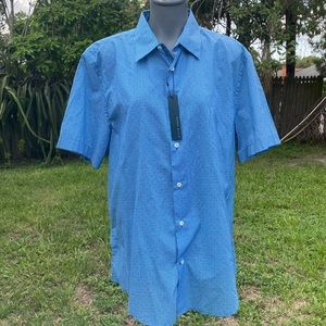Perry Ellis Casual Shirt Size L NWT